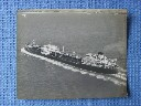 B/W PHOTOGRAPH OF THE ESSO PETROLEUM COMPANY VESSEL 'THE ESSO SALISBURY'