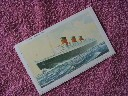 MINT CONDITION UNUSED LETTER CARD FROM THE RMS QUEEN MARY