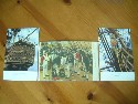 3 UNUSED COLOUR POSTCARDS FROM THE VESSEL HMS VICTORY