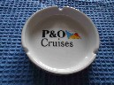 P&O CRUISES ASHTRAY SHOWING ON THE FRONT THE NAME ARCADIA