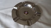 SOUVENIR CHROME ASHTRAY FROM THE UNION CASTLE LINE VESSEL THE RMS ARUNDEL CASTLE