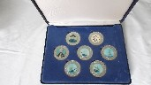 BATTLE OF TRAFALGAR SOUVENIR MEDALLION SET