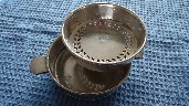 SILVER PLATED DINNER SERVING SIDE DISH FROM THE BRITISH INDIA STEAM NAVIGATION COMPANY