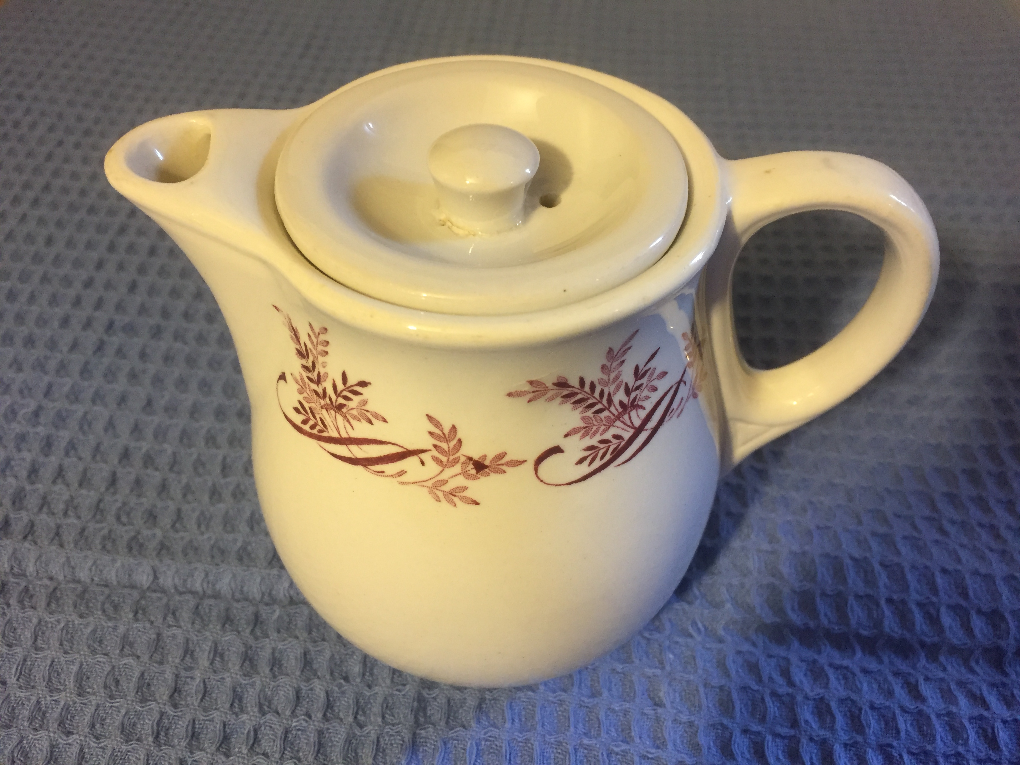 AS USED ON BOARD TEAPOT FROM THE BRITISH & COMMONWEALTH LINE