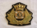 LARGE SIZE OFFICERS BADGE FROM THE BRITISH PETROLEUM COMPANY LONDON