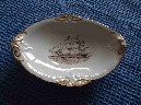 CUNARD BROCKLEBANK LINE 200 YEAR CELEBRATION CHINA DISH