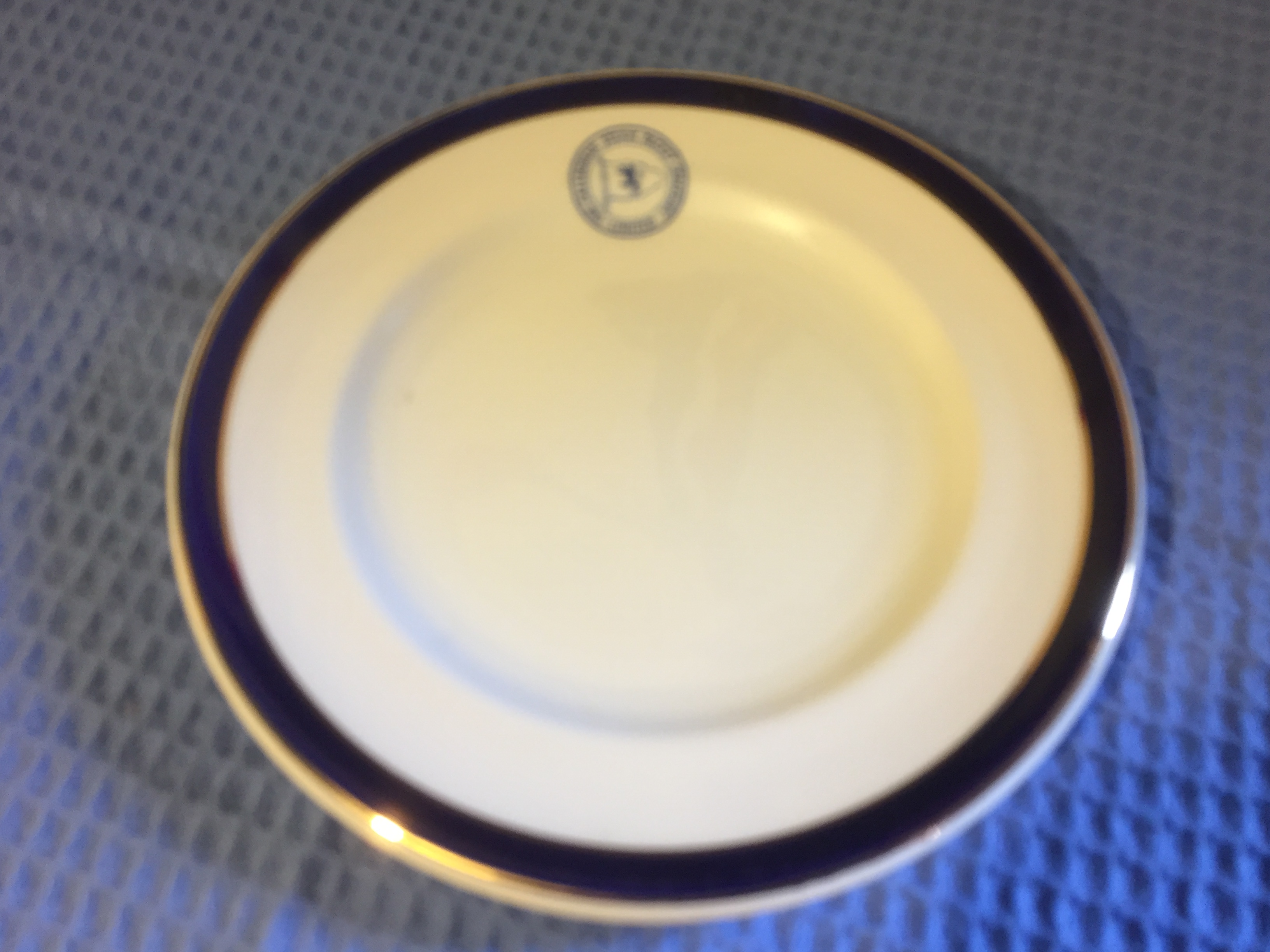 VERY RARE TO FIND PLATE FROM THE CALEDONIAN STEAM PACKET COMPANY LIMITED