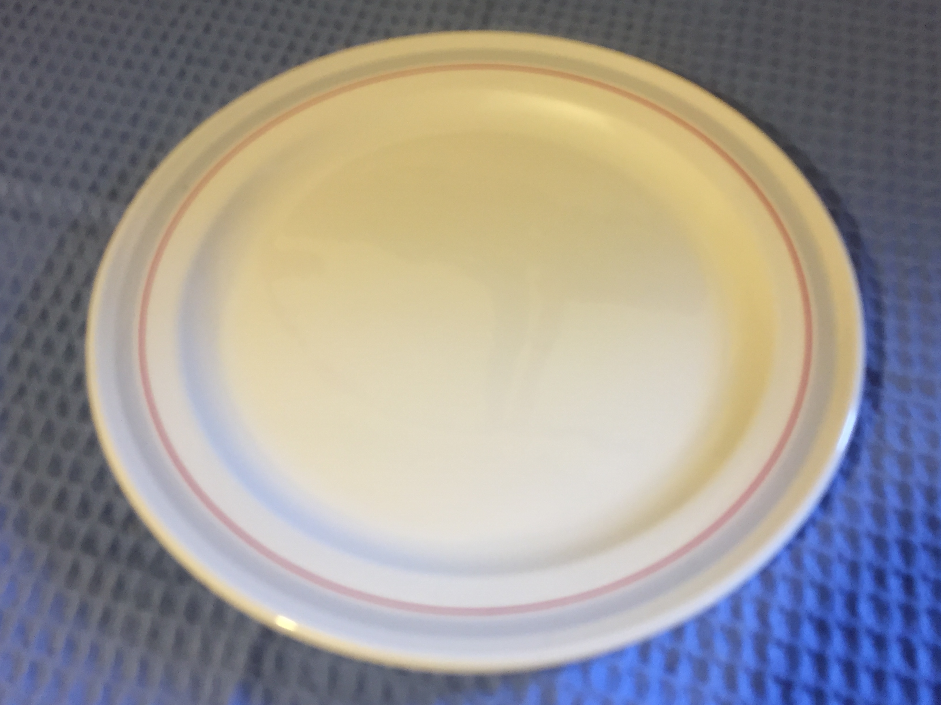 CANADIAN PACIFIC DINING PLATE AS USED IN SERVICE