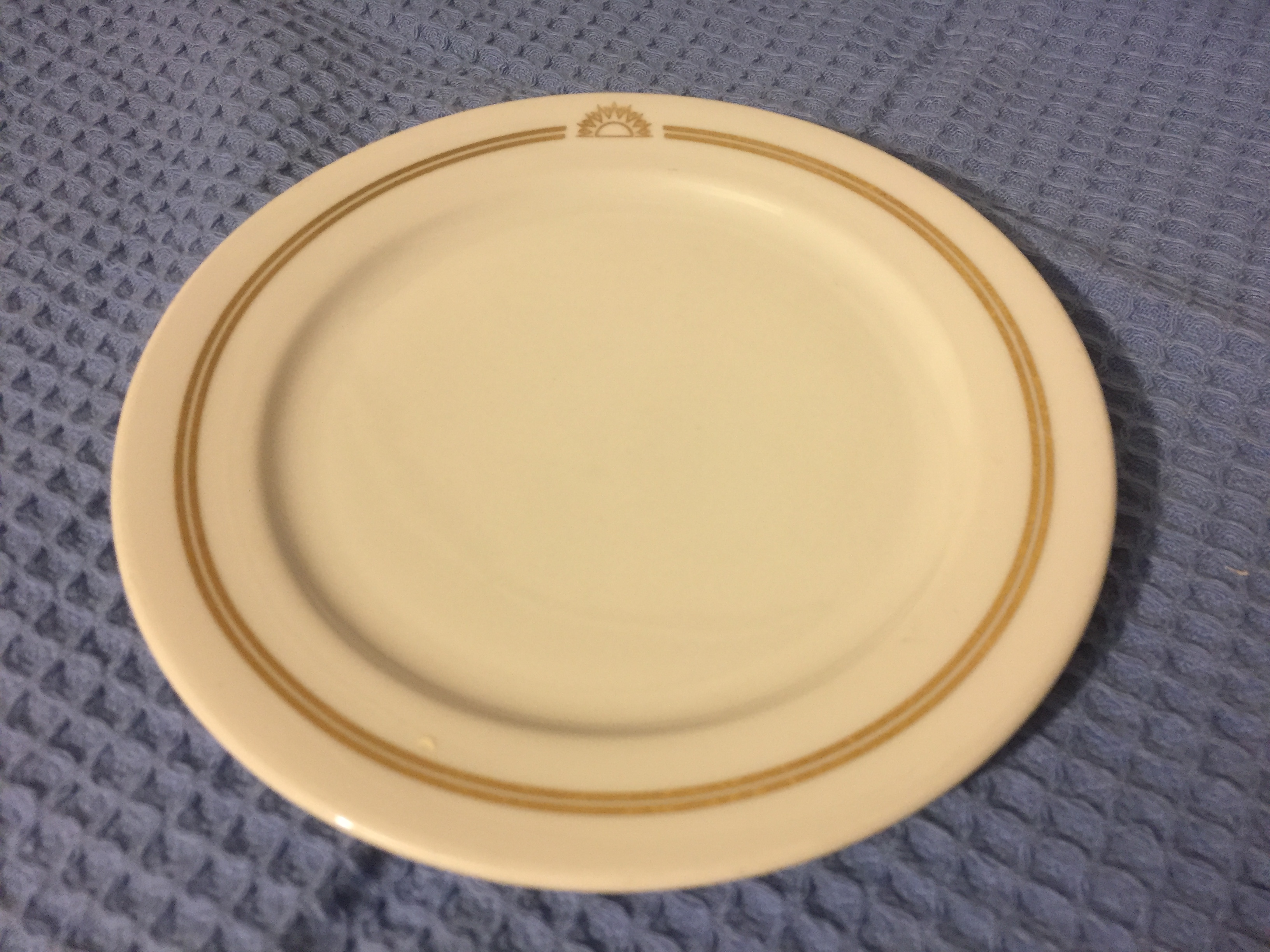 RARE TO FIND NOW DINING SIDE PLATE FROM THE SS CANBERRA