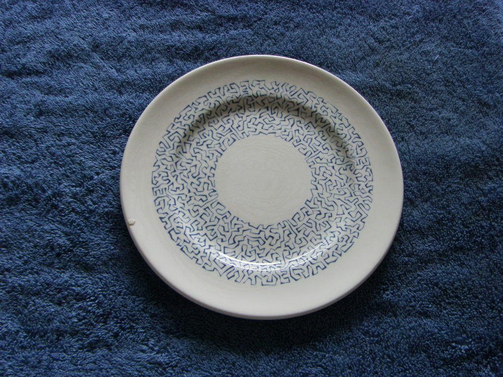 RARE SMALL SIDE PLATE/SAUCER FROM THE P&O LINE VESSEL THE SS CANBERRA