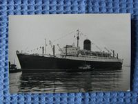 B/W PHOTOGRAPH OF THE VESSEL THE CARINTHIA
