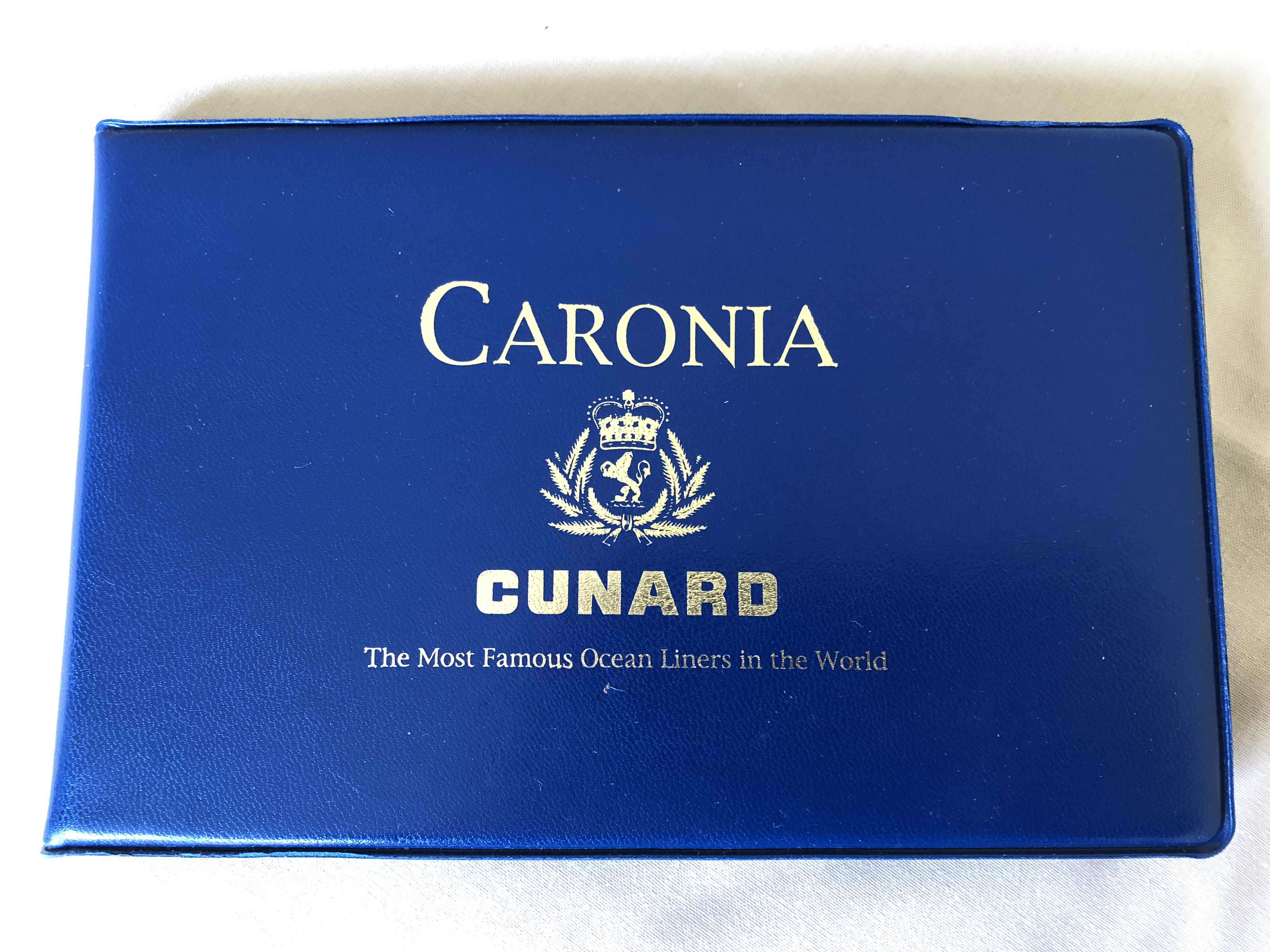 FANTASTIC SET OF ORIGINAL COLOUR PHOTOGRAHS FROM THE OLD CUNARD LINE VESSEL THE CARONIA