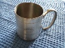 SUPERB SMALL SIZED PEWTER TANKARD FROM THE P&O VESSEL THE SS CATHAY