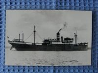 B&W PHOTOGRAPH OF THE VESSEL THE CHANCELLOR