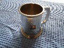 SMALL SIZED PEWTER TANKARD FROM THE P&O VESSEL THE SS CHUSAN