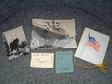 ITEMS FROM THE AMERICAN EXPORT LINES VESSEL SS CONSTITUTION