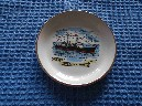 VERY RARE SOUVENIR PICTURE DISH FROM THE BRITISH INDIA STEAM NAVIGATION COMPANY VESSEL THE ME DEVONIA