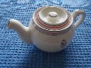 SUPERB CONDITION TEAPOT FROM THE ELLERMAN LINE STEAM SHIP COMPANY