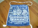 SOUVENIR BAG FROM THE GREEK SHIPPING LINE 'EPIROTIKI' COMPANY