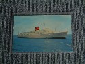 OLD POSTCARD FROM FURNESS LINES VESSEL TSS OCEAN MONARCH