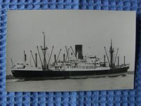 B/W PHOTOGRAPH OF THE VESSEL THE GLENROY