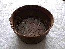 EARLY USE WOODEN NAVAL GUN POWDER SIEVE