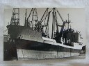 ORIGINAL B/W PHOTOGRAPH OF THE HARRISON LINE VESSEL THE TRADER