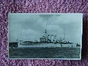 ORIGINAL B/W PHOTOGRAPH OF THE FAMOUS NAVAL VESSEL 'HMS CORNWALL' FROM 1939