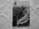 POSTCARD SIZE PHOTOGRAPH OF THE ROYAL NAVAL VESSEL HMS DIOMEDE