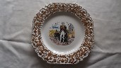 EARLY SOUVENIR LORD HORATIO NELSON PLATE