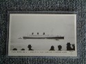 UNUSED MAIDEN VOYAGE POSTCARD FROM THE RMS QUEEN MARY