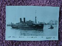 ORIGINAL B/W POSTCARD OF THE P&O VESSEL THE SS MOLDAVIA