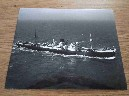 LARGE B/W PHOTOGRAPH OF THE BLUE STAR LINE VESSEL THE NAPIER STAR