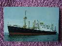 ORIGINAL COLOUR POSTCARD OF THE HOLLAND-AMERICA LINE VESSEL THE MV NOORDAM