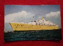 POSTCARD OF THE FAMOUS ORIENT/P&O LINE CRUISE SHIP THE SS ORIANA