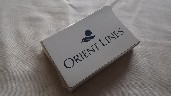 SET OF UNOPENED AND UNUSED ORIENT LINE SOUVENIR PLAYING CARDS DATED CIRCA 1970's