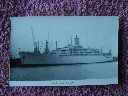ORIGINAL B/W PHOTOGRAPH OF THE P&O-ORIENT LINE VESSEL THE ORONSAY TAKEN 1973