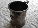 LARGE SIZED PEWTER TANKARD FROM THE PORT LINE