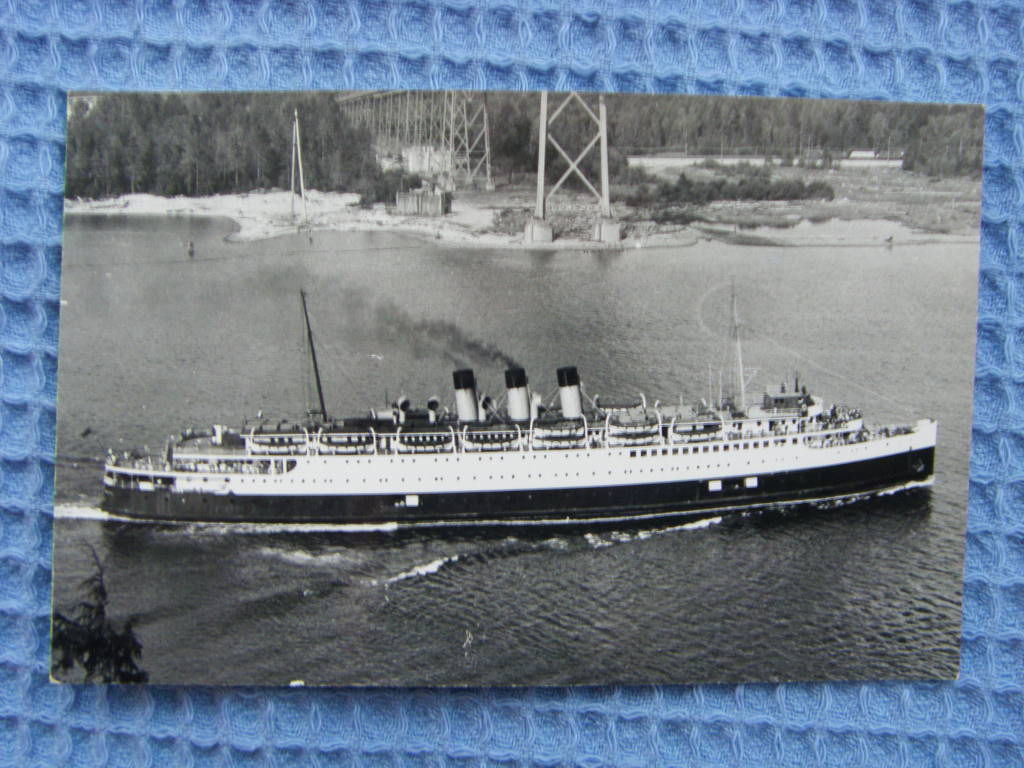 RARE PHOTOGRAPH OF THE VESSEL PRINCESS ELIZABETH