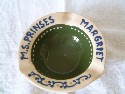 ITEM FROM DUTCH SHIPPING COMPANY VESSEL PRINSES MARGARIET