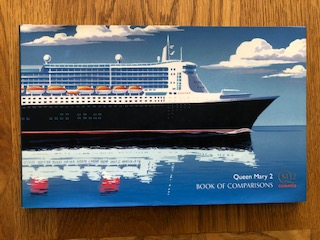 INTRODUCTION BOOK FOR THE BUILDING OF THE QUEEN MARY 2 FROM 2003