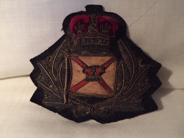 OFFICERS BADGE FROM THE ROYAL MAIL LINE