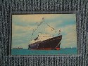 UNUSED COLOUR POSTCARD OF THE RETIRED ROYAL YACHT BRITANNIA