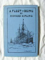 FANTASTIC 1899 BOOK BY RUDYARD KIPLING ENTITLED 'A FLEET IN BEING'