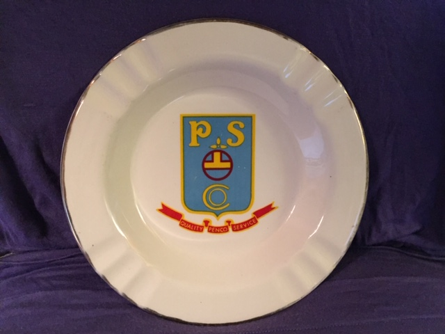 SOUVENIR DECORATIVE CHINA PLATE FROM THE SABINA LINE