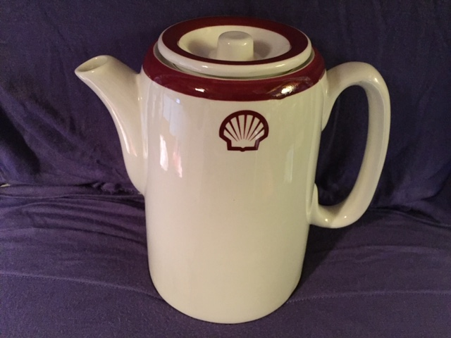 COFFEE POT FROM SHELL OIL TANKERS COMPANY