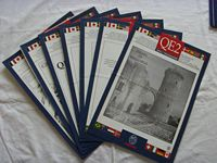 SET OF 7 DAILY CRUISE ACTIVITY PROGRAMS FROM THE QE2 DATED 1991