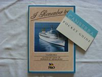 BOOK FROM THE P&O LINE COVERING A COLLECTION OF MEMORIES FROM THE FAMOUS VESSEL THE SS CANBERRA