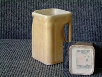 CHINA MILK JUG FROM THE CUNARD LINE MADE IN TRADITIONAL SQUARE SHAPED