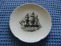 SOUVENIR DISH SHOWING A PICTURE OF THE OLD CLIPPER SHIP HMS CURRYDICE